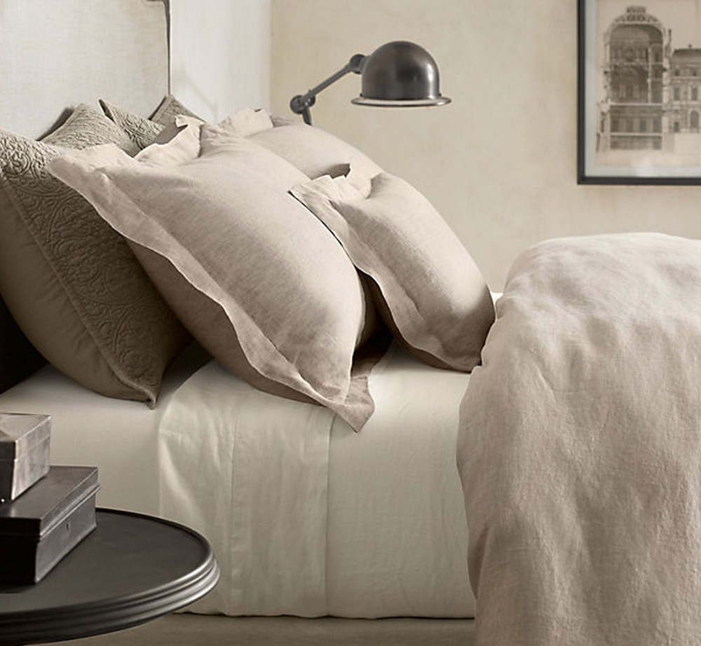 Restoration Hardware Linen Sheets Homesfeed