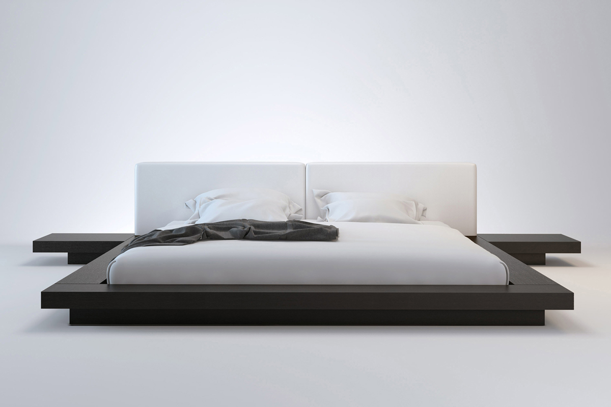 Modern king size bed frame homesfeed - Modern bed volwassen ...