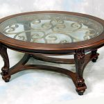 Luxurious Living Room Glass High End Coffee Tables