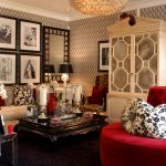 Luxury Old Hollywood Glamour Decor In Living Room