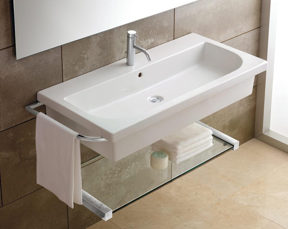 Bathroom sink small