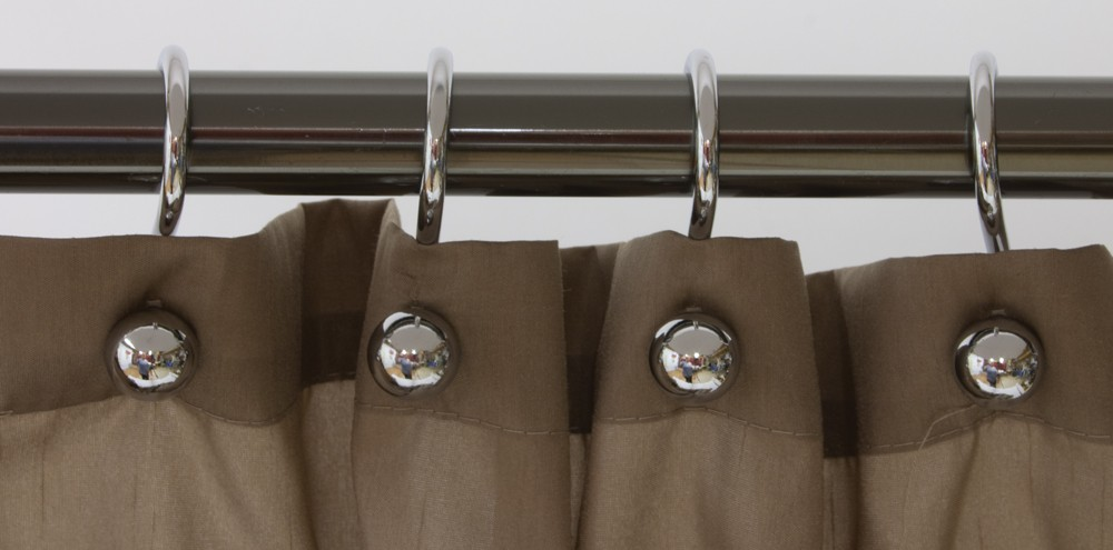 how to clean shower curtain hooks