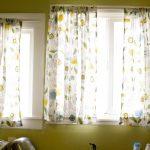 Minimalist Handcraft Ikea Patterned Curtains
