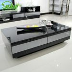 Modern Grey And Black High End Coffee Tables