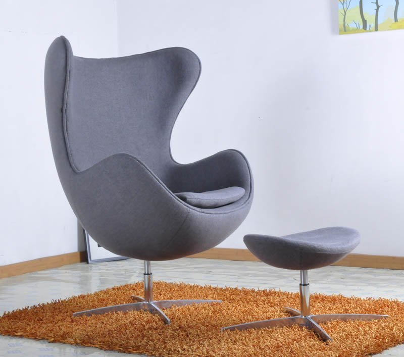 Modern Grey Lounge Chairs For Living Room