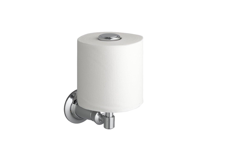 vertical toilet paper holder homesfeed. Black Bedroom Furniture Sets. Home Design Ideas