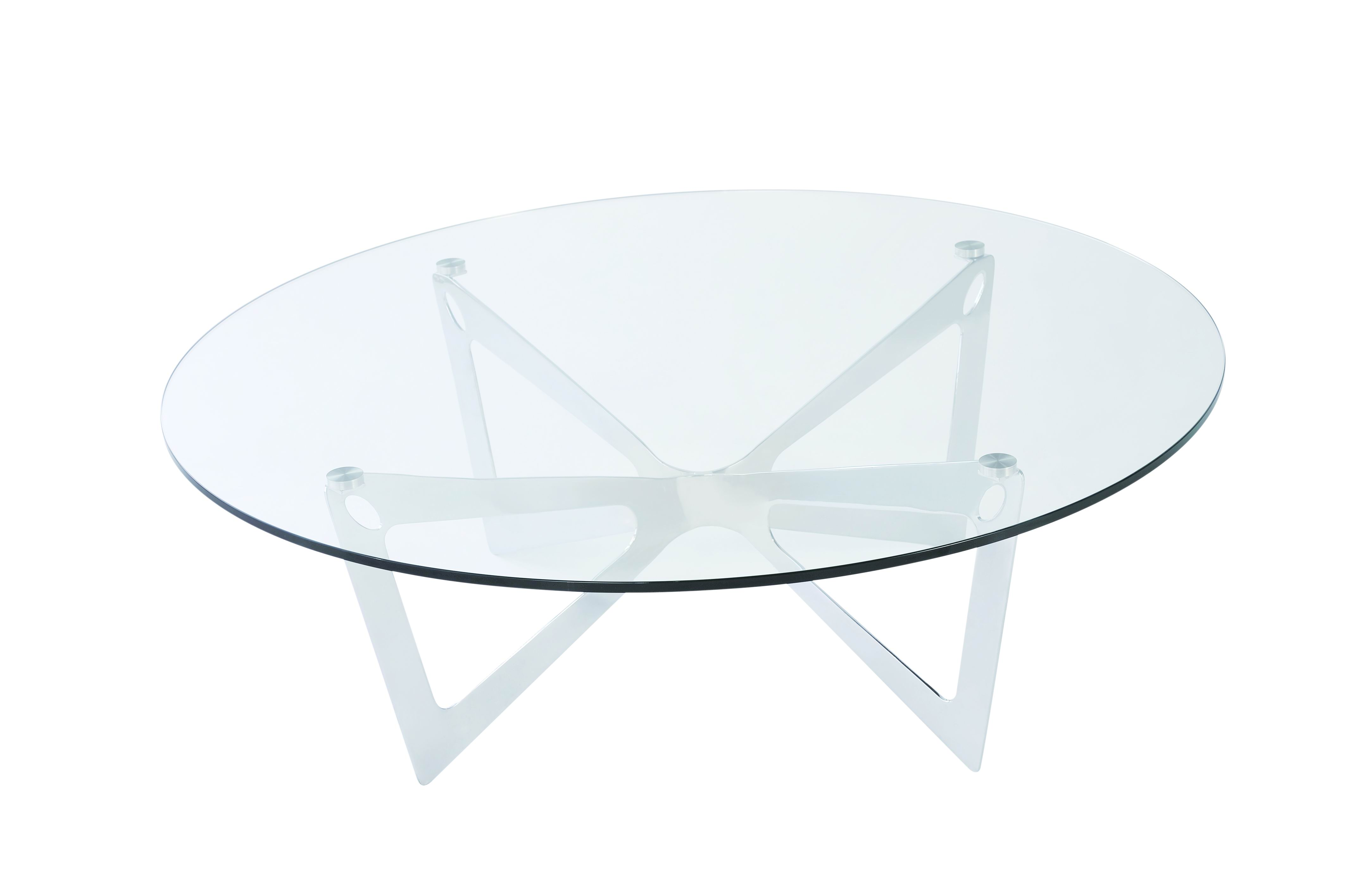 Small glass coffee tables homesfeed Glass contemporary coffee table
