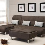 Most Comfortable Sofas With Contemporary Design Of Dark Brown Color