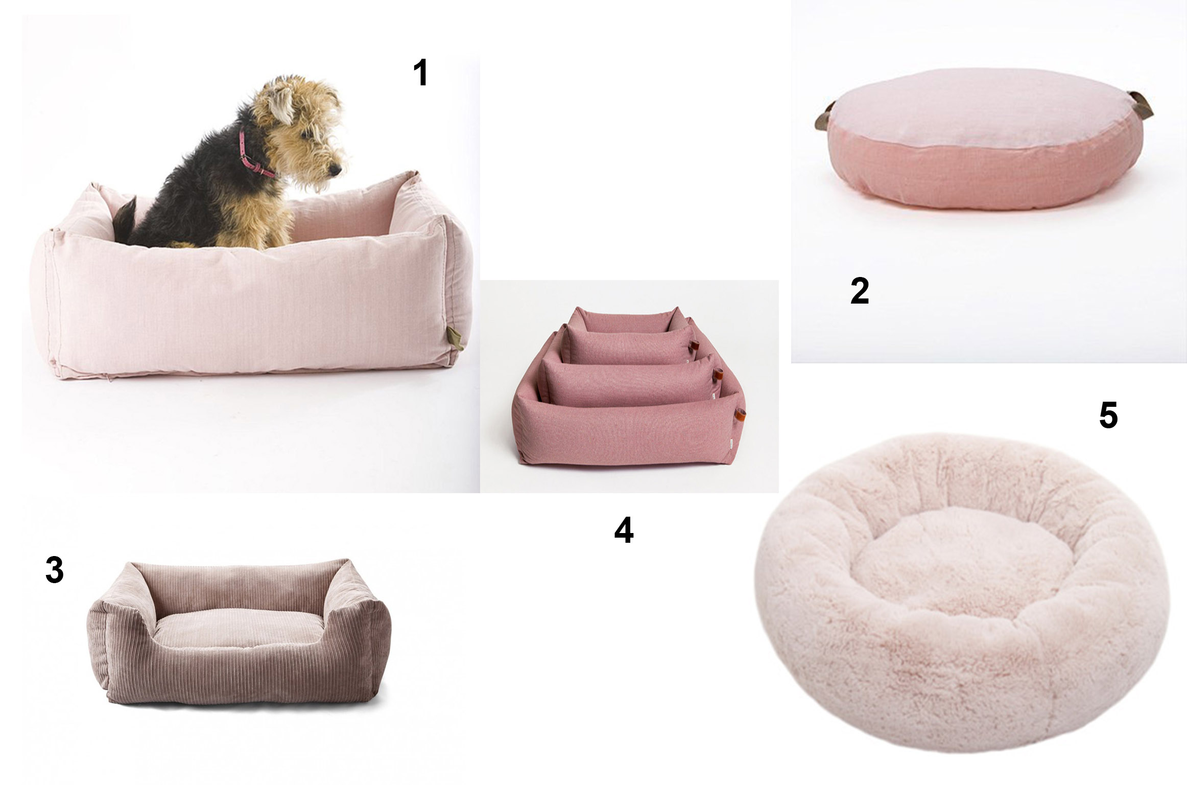 stylish dog beds  homesfeed - pink stylish dog beds in different shape