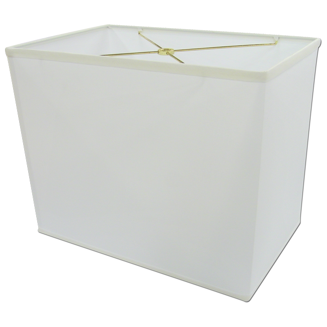 Black Rectangular Lamp Shades: Pretty white lampshade idea in rectangular shape,Lighting