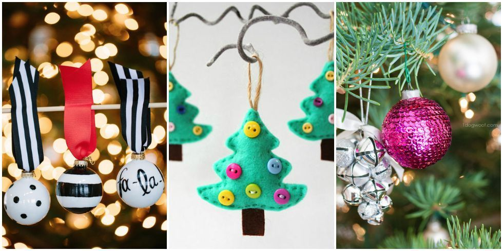 Delightful Christmas Craft Ornament Ideas Part - 2: Random Christmas Holiday Ornaments To Make