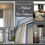 Random Design And Style Of DIY Contemporary Window Valances
