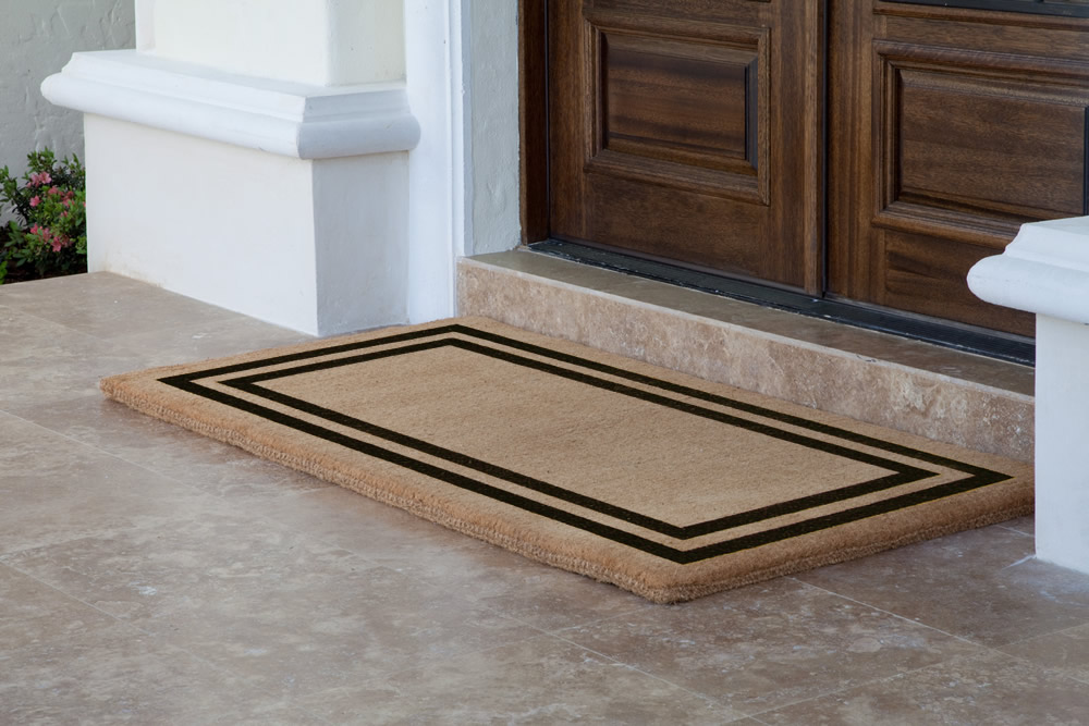 Double Door Welcome Mats Home Ideas