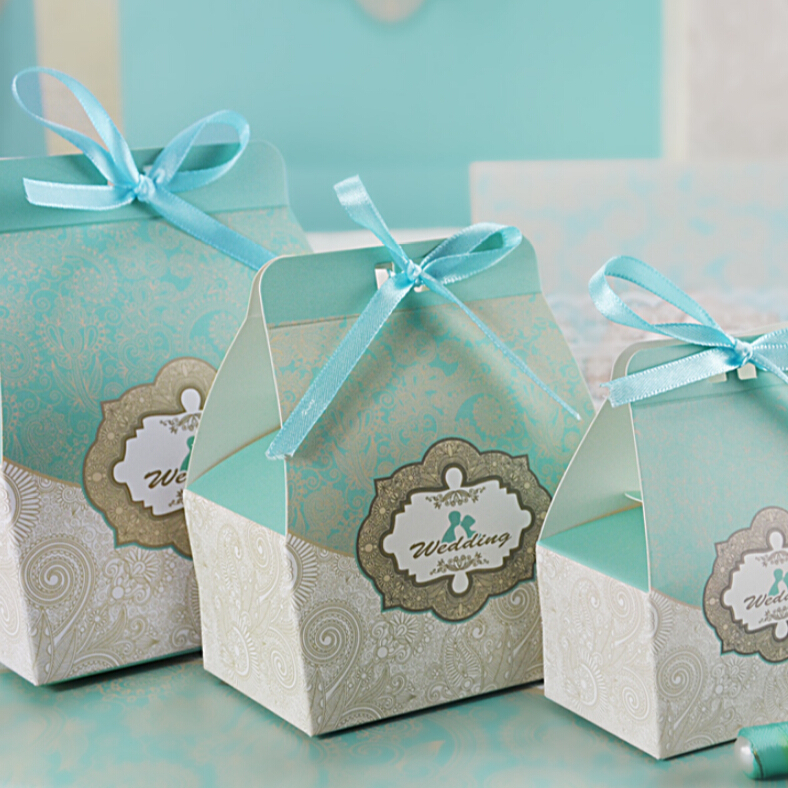 Wedding Gift For Bride Tiffany : Romantic Blue Design Of Tiffany Wedding Gifts With Box