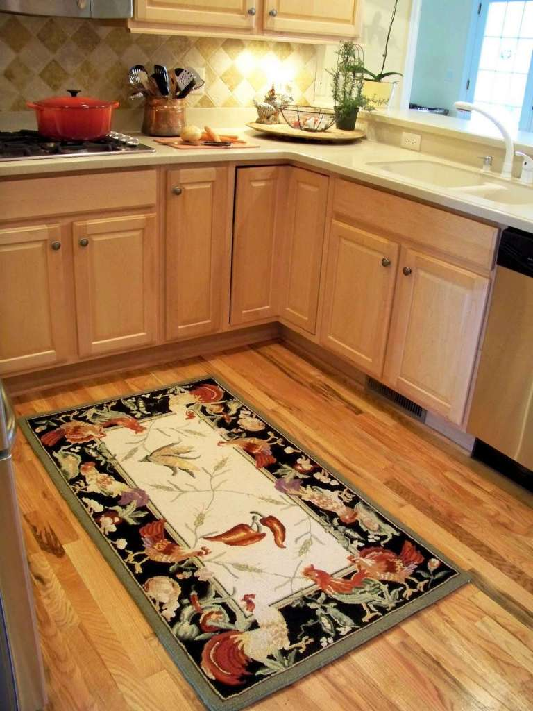 Rooster Kitchen Rugs | HomesFeed