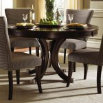 Small Round Dining Table Set With Leaf And CHairs