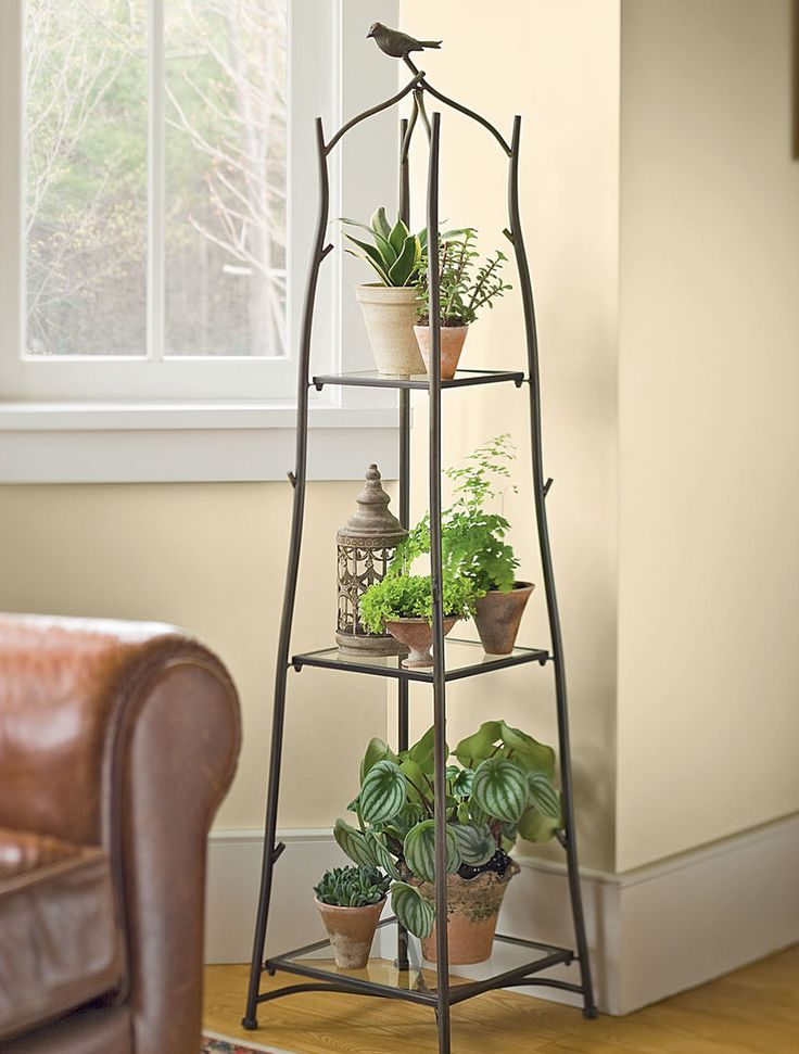 Tall plant stands decorative and functional tool for for Stand decoration
