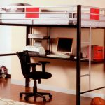 Steel Bunk Beds With Desks Under The Bed