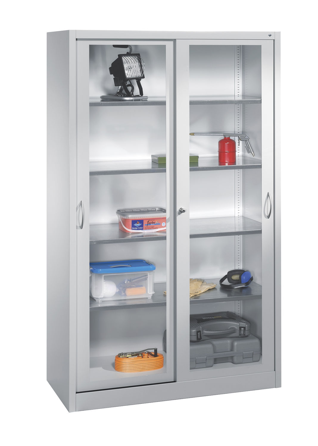 Storage cabinet with glass doors homesfeed Glass cabinet doors