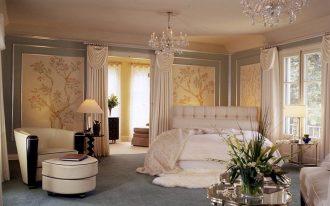 Stylish Old Hollywood Glamour Decor With Luxury Design Style