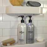Subway Tile Shampoo Rack For Shower