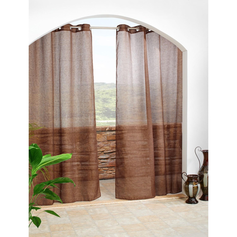 Indoor Outdoor Curtains Homesfeed
