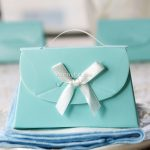 Tiffany Wedding Gifts With Small Design And White Ribbon