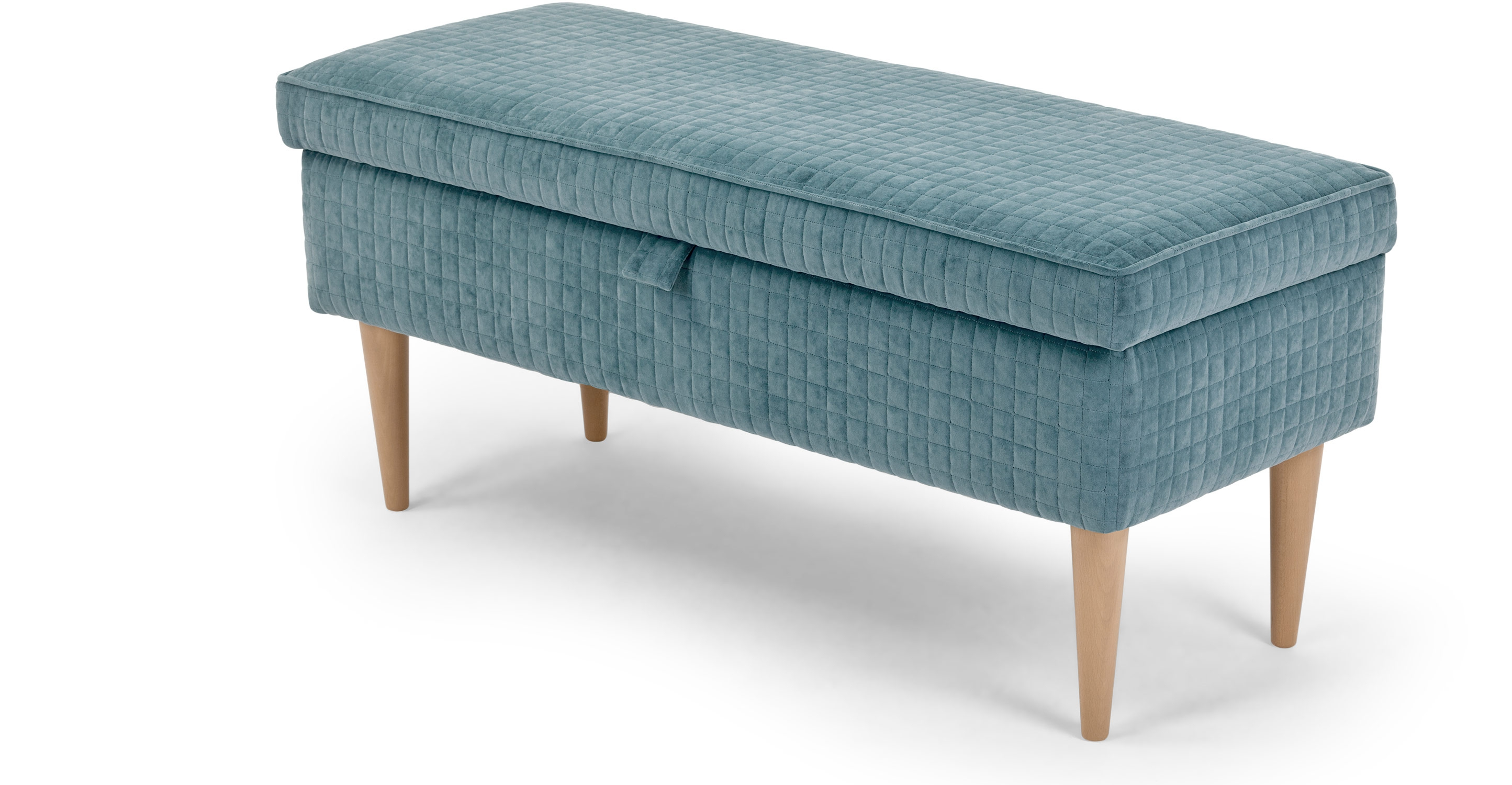 Upholstered bench with storage homesfeed for Chair with storage