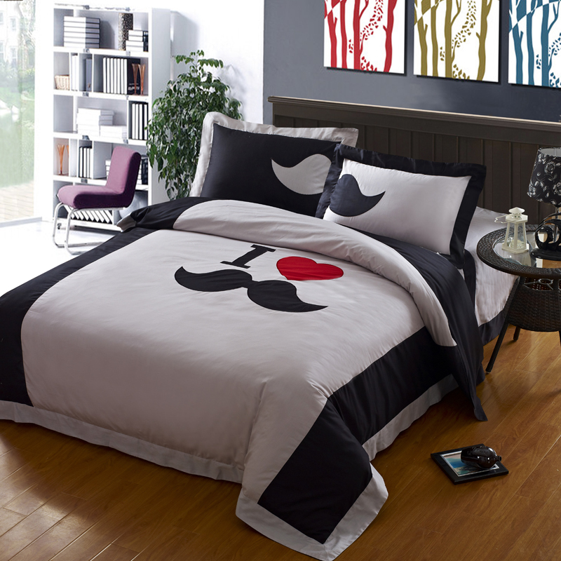 Cool comforter sets homesfeed for Cool teenage bedroom sets