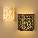 Unique And Stylish Double Battery Operated Sconce With Different Design