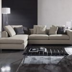 Unique Sectional Sofas With Unique Black Coffee Table