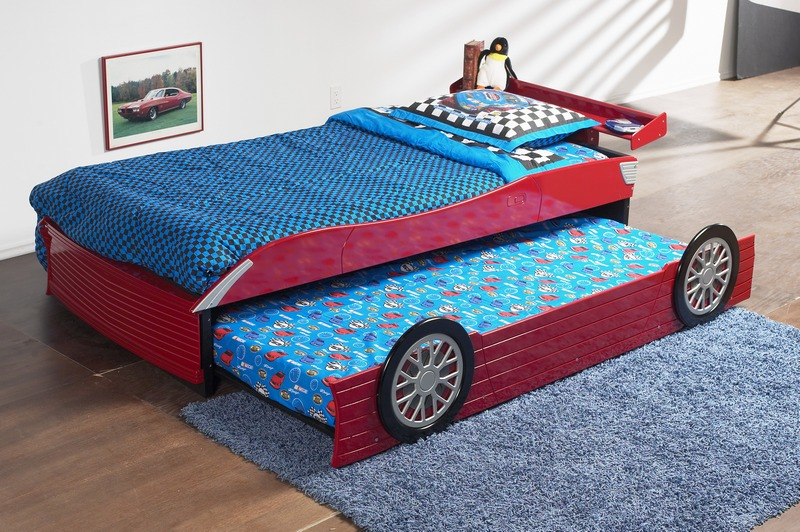 Double Trundle Bed For Kids Bedroom Homesfeed