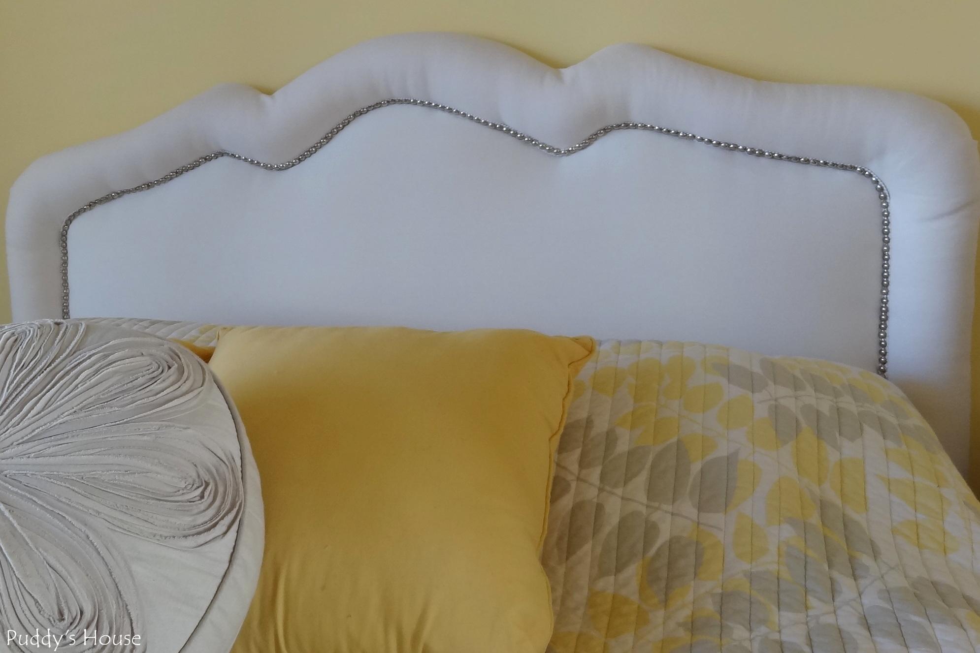 Upholstered Headboard With Nailhead Trim - HomesFeed