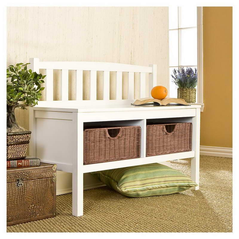 Small Bench With Storage Homesfeed