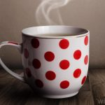 White Red Spotted For Best Coffee Mugs