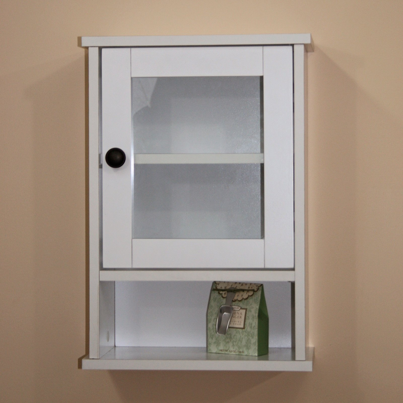 Storage Cabinet with Glass Doors – HomesFeed