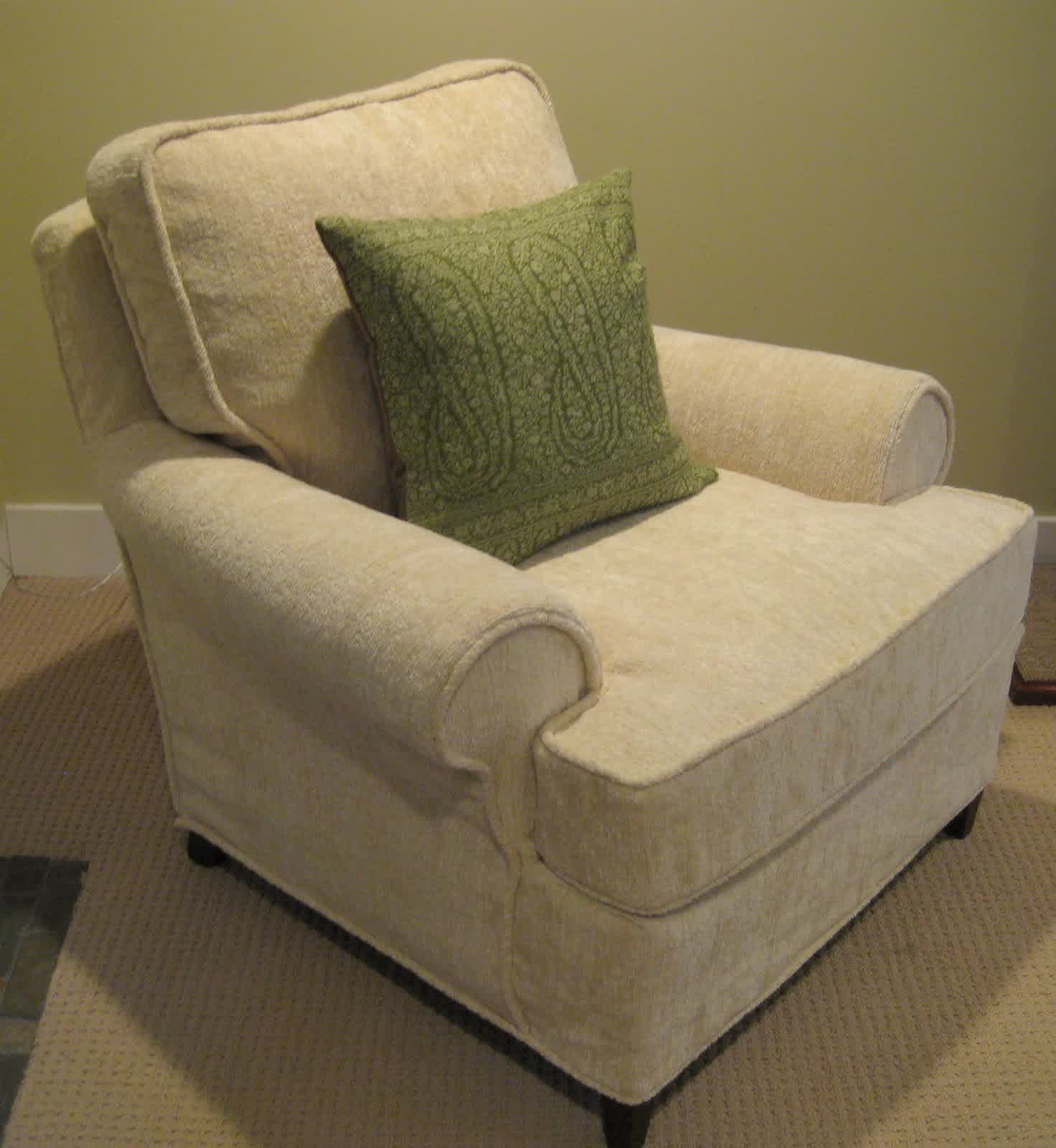Add Club Chair A Whole New Look Only With Club Chair Slipcover Homesfeed