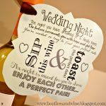 Wine With Card Of Simple Wedding Gifts