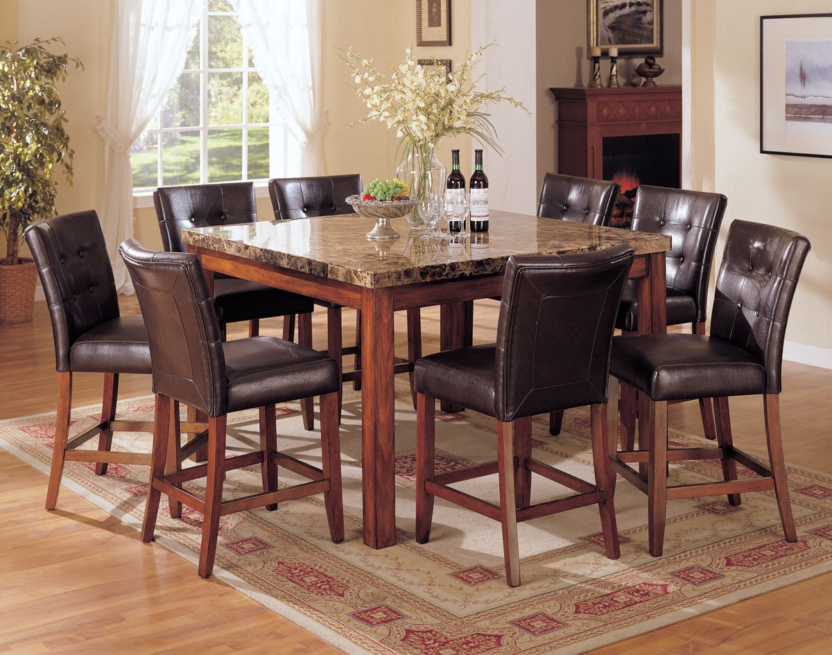 Granite dining table set homesfeed for On the dining table