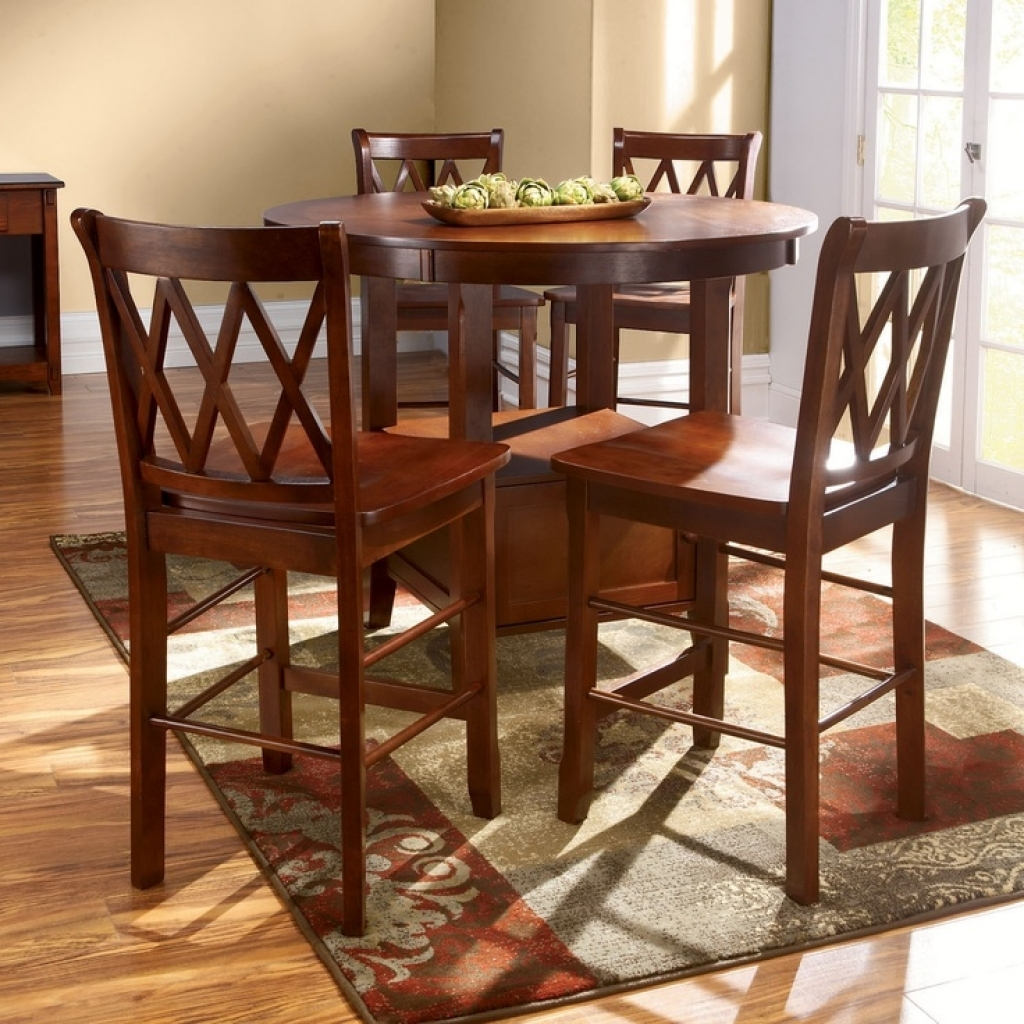High top table sets homesfeed for Kitchen table top