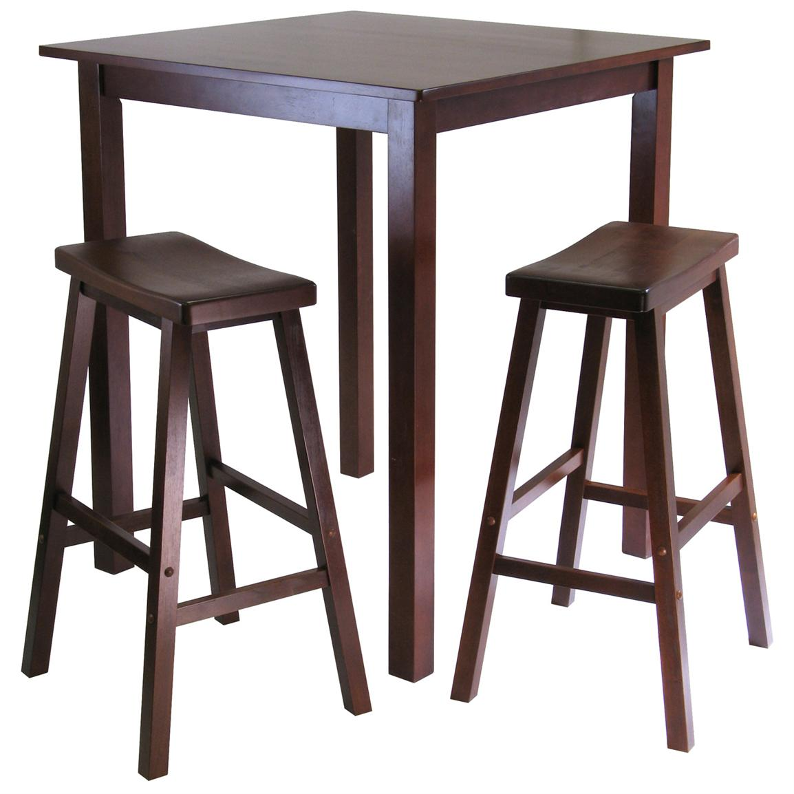 Pub tables and stools homesfeed for Small dining table with stools