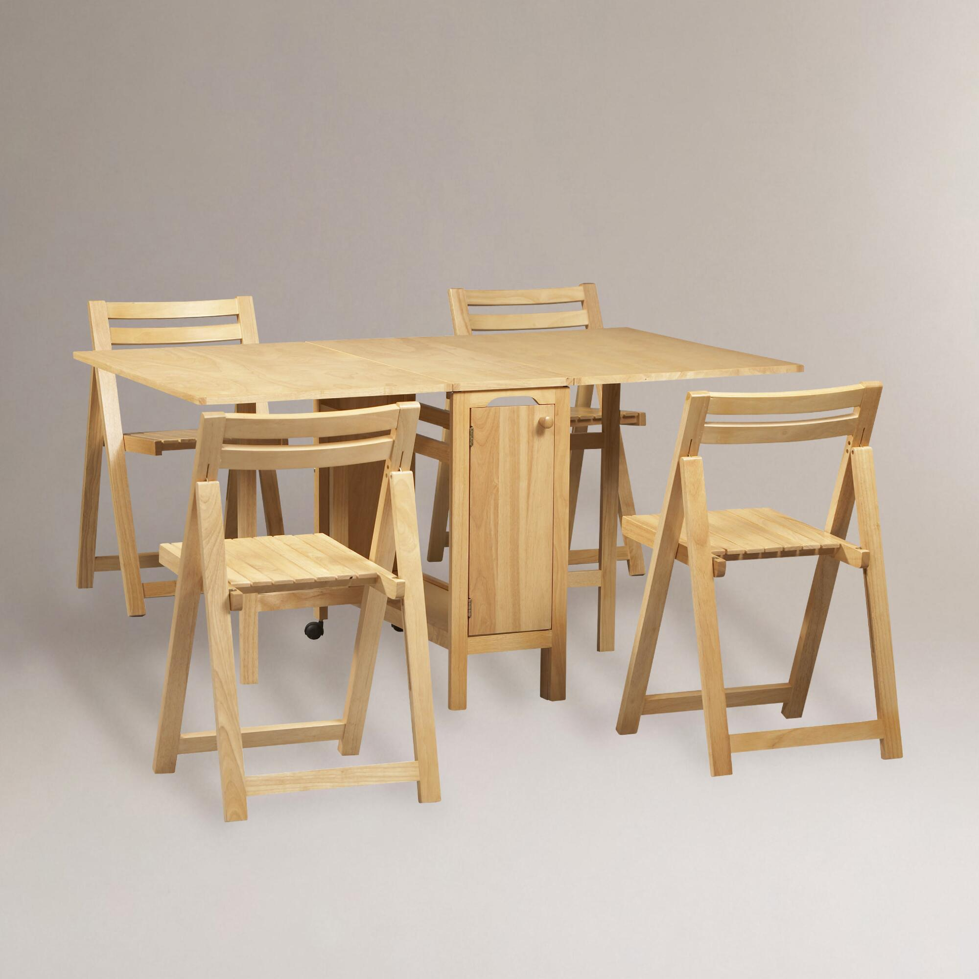 Space Saver Dining Set Homesfeed
