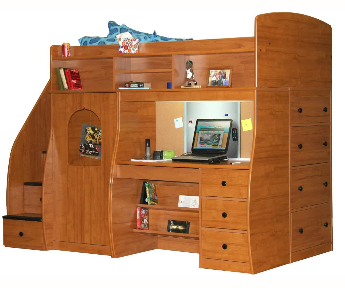 Berg Loft Bed Selections With Optional Features Homesfeed