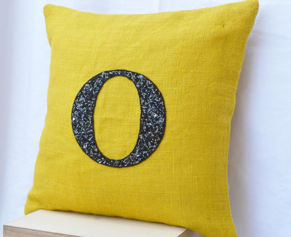 Monogrammed Throw Pillows Homesfeed