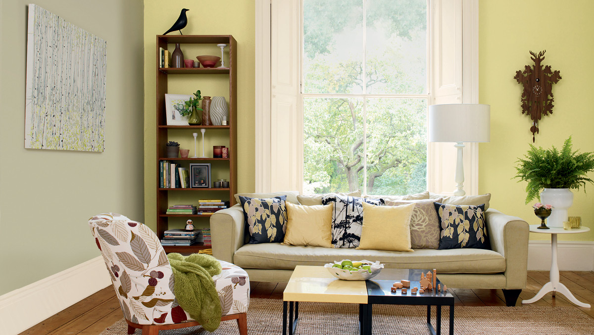 Living Room Colour Schemes | HomesFeed