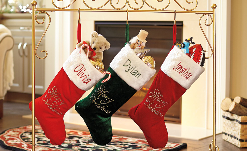charming christmas stocking holder stands - Decorative Christmas Stocking Holders