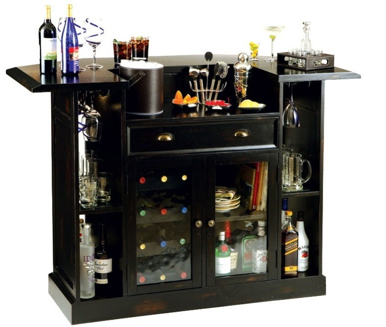 Elegant home bar ikea design for home hang out space for Bar designs at home