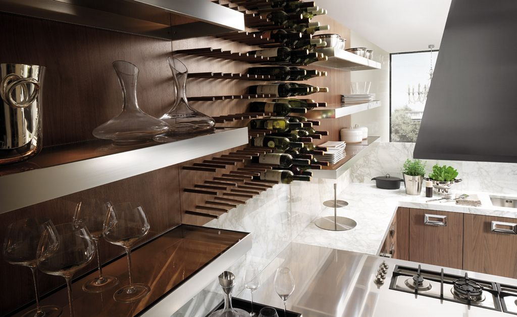 How to compromise with cold winter with perfect wine racks - Muebles para bar en casa ...