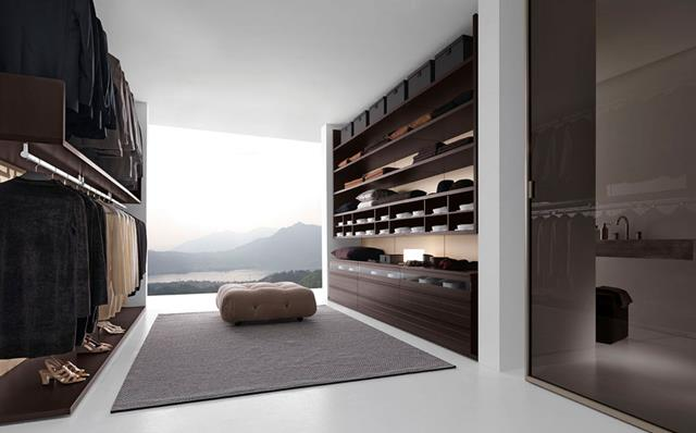 contemporary walk in wardrobe for luxurious dressing homesfeed
