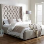 amazing tall upholstered bed arthur 10 with admirable tufted bed together with strikking bed linen and wooden flooe plus white night stand table